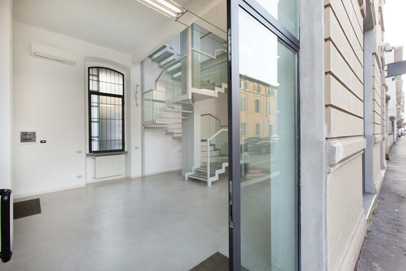 Spazio F - Open space, Showroom, Temporary shop di 140mq in Via Savona 35 | location disallestita 17