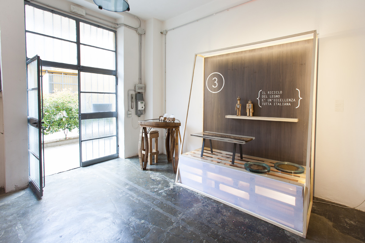 Beside - Laboratorio, Open space, Spazio industriale di 85mq in Via Tortona 20 | location allestita 1