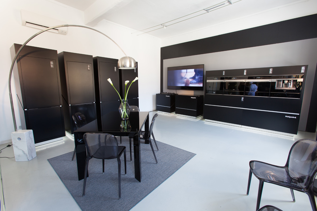Spazio F - Open space, Showroom, Temporary shop di 140mq in Via Savona 35 | location allestita 2