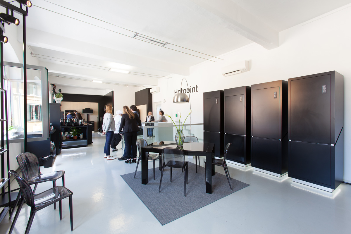 Spazio F - Open space, Showroom, Temporary shop di 140mq in Via Savona 35 | location allestita 3