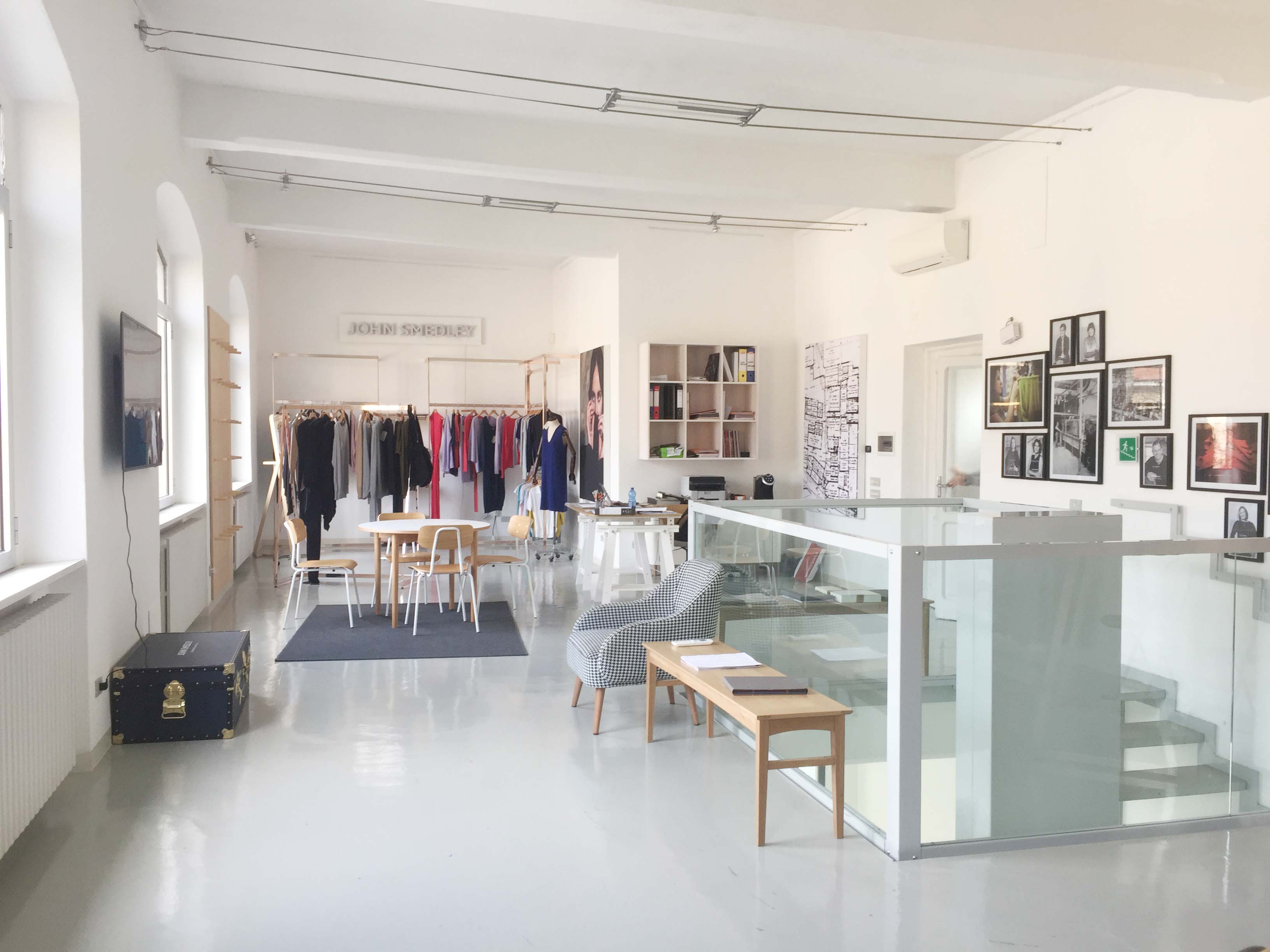 Spazio F - Open space, Showroom, Temporary shop di 140mq in Via Savona 35 | location allestita 5