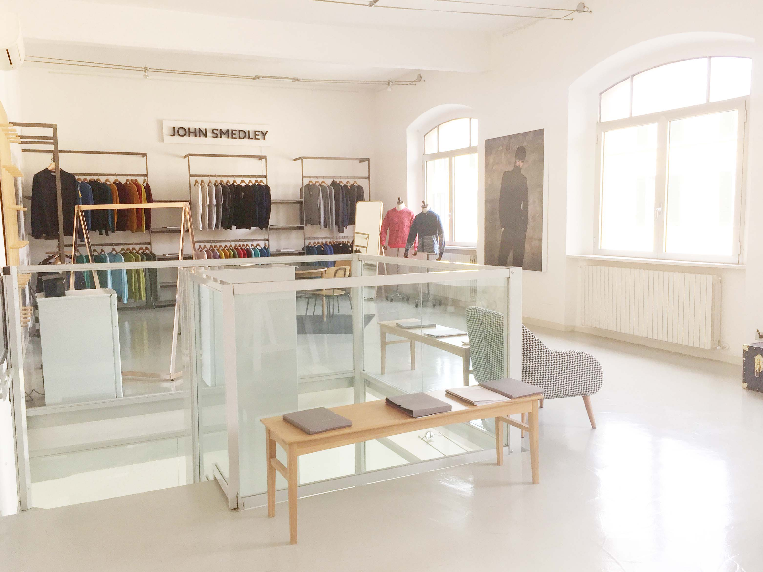 Spazio F - Open space, Showroom, Temporary shop di 140mq in Via Savona 35 | location allestita 7