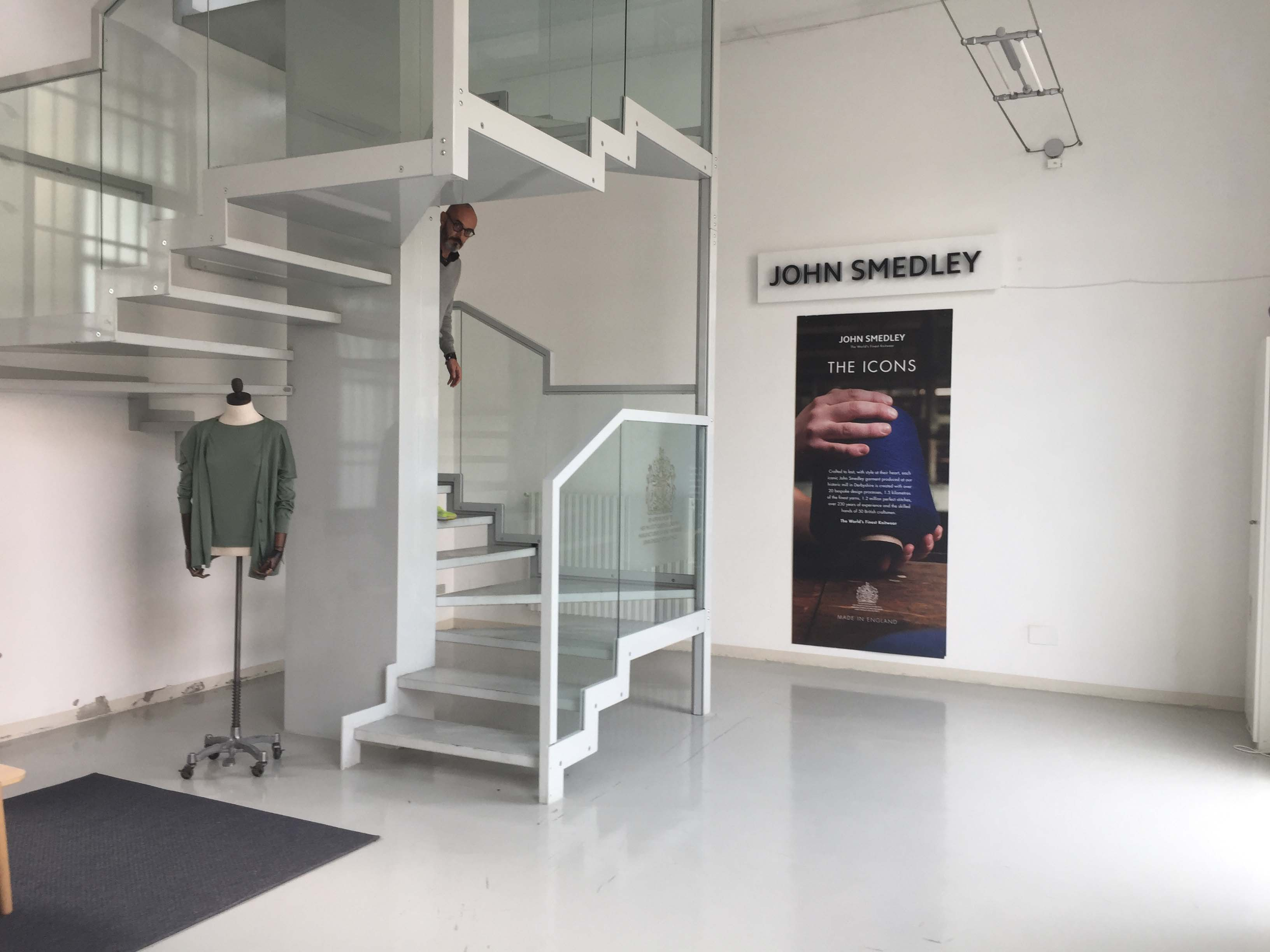 Spazio F - Open space, Showroom, Temporary shop di 140mq in Via Savona 35 | location allestita 8