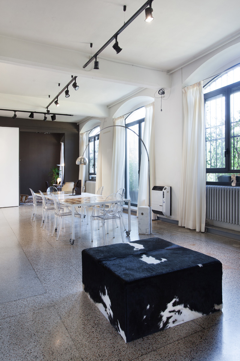 Green Stage - Loft, Open space, Showroom di 160mq in Via Savona 33 | location disallestita 1