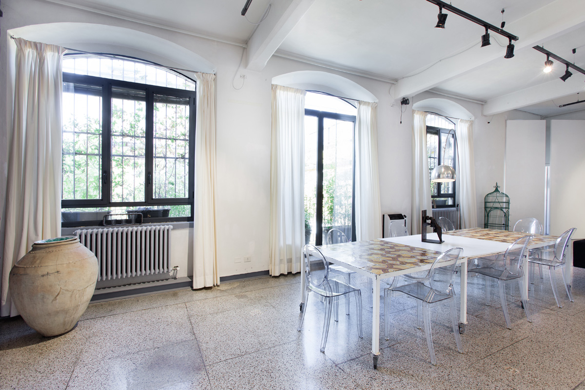Green Stage - Loft, Open space, Showroom di 160mq in Via Savona 33 | location disallestita 4
