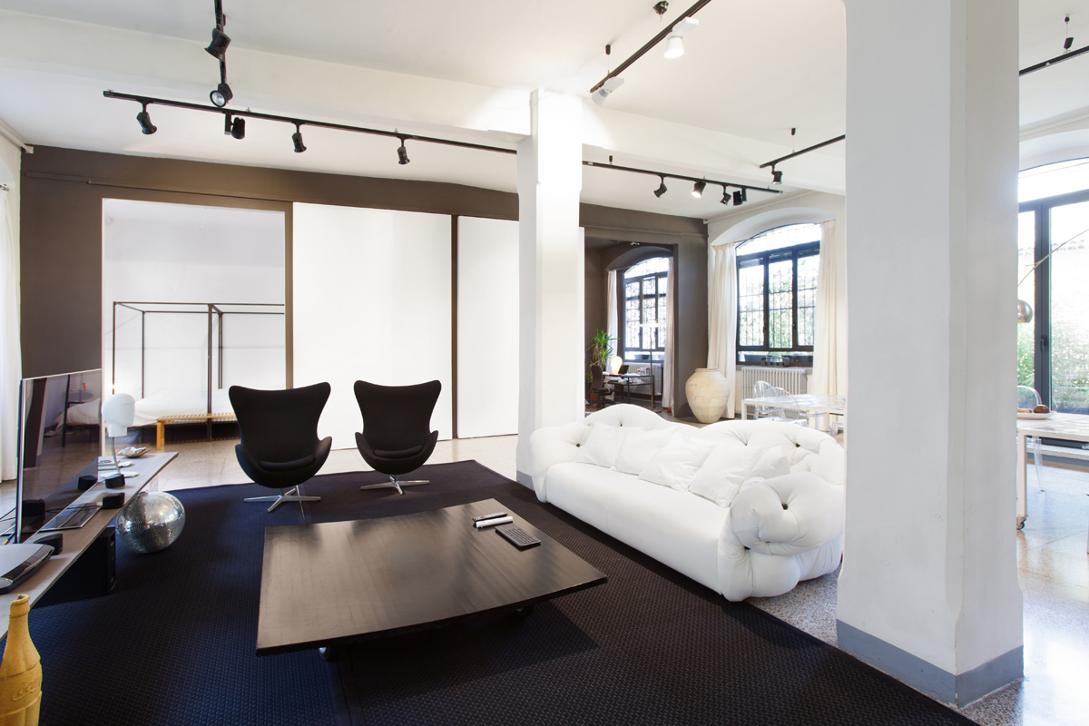 Green Stage - Loft, Open space, Showroom di 160mq in Via Savona 33 | location disallestita 2