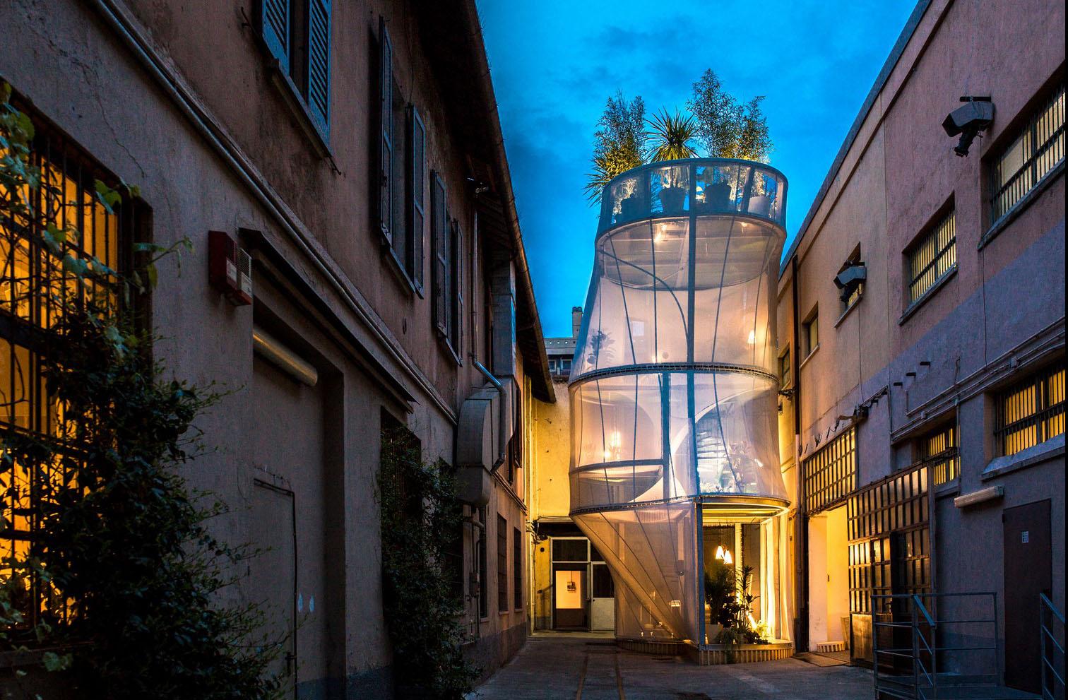 Location in zona tortona milano space makers for Design week milano 2017