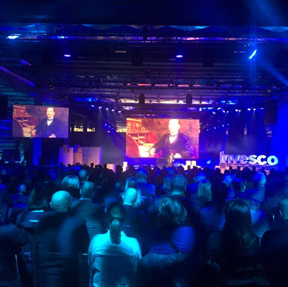 INVESCO - Corporate event          in via Watt - 2