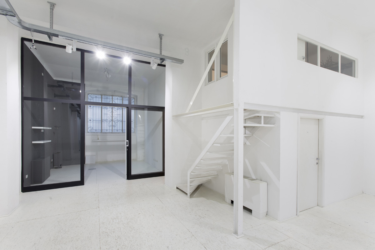 Production - Laboratorio, Open space, Showroom di 210mq in via Savona 53 | location disallestita 4