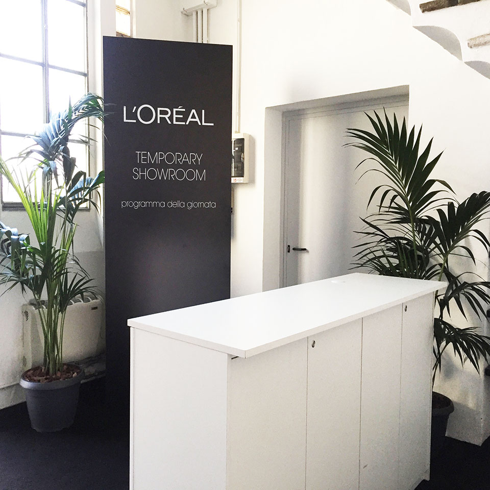 L'Oréal - Temporary showroom