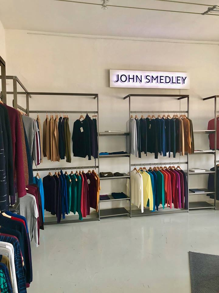 John Smedley  - Made in Great Britain in Via Savona 35 - 1