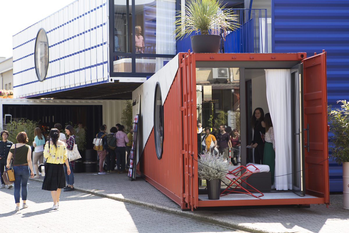 FUORISALONE - 04/18 - CONTAINERWERK in Via Tortona 31  - 1