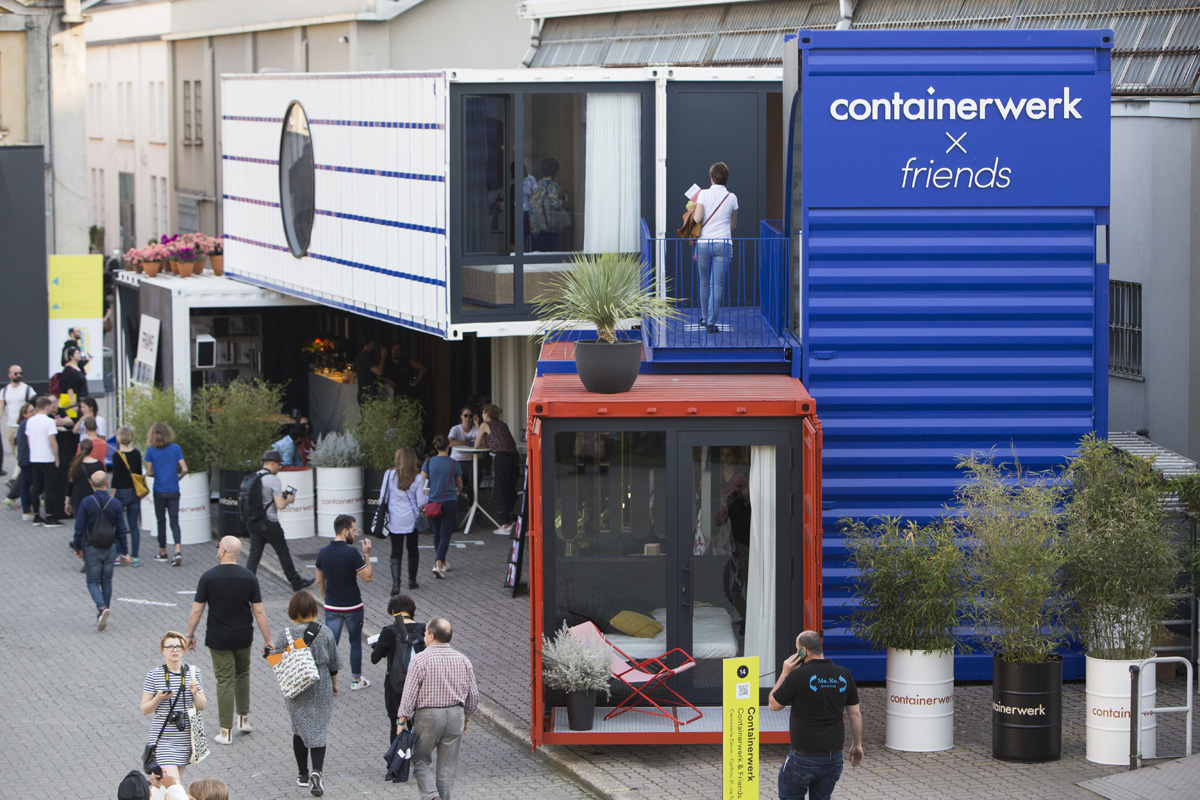 FUORISALONE - 04/18 - CONTAINERWERK in Via Tortona 31  - 2