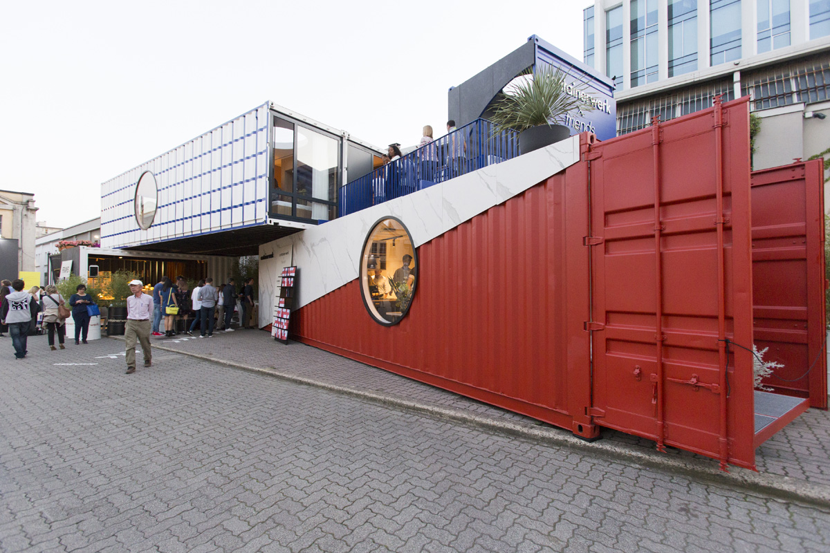 FUORISALONE - 04/18 - CONTAINERWERK in Via Tortona 31  - 4