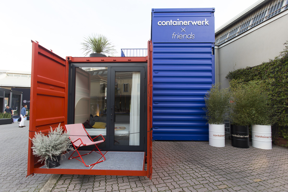FUORISALONE - 04/18 - CONTAINERWERK in Via Tortona 31  - 10