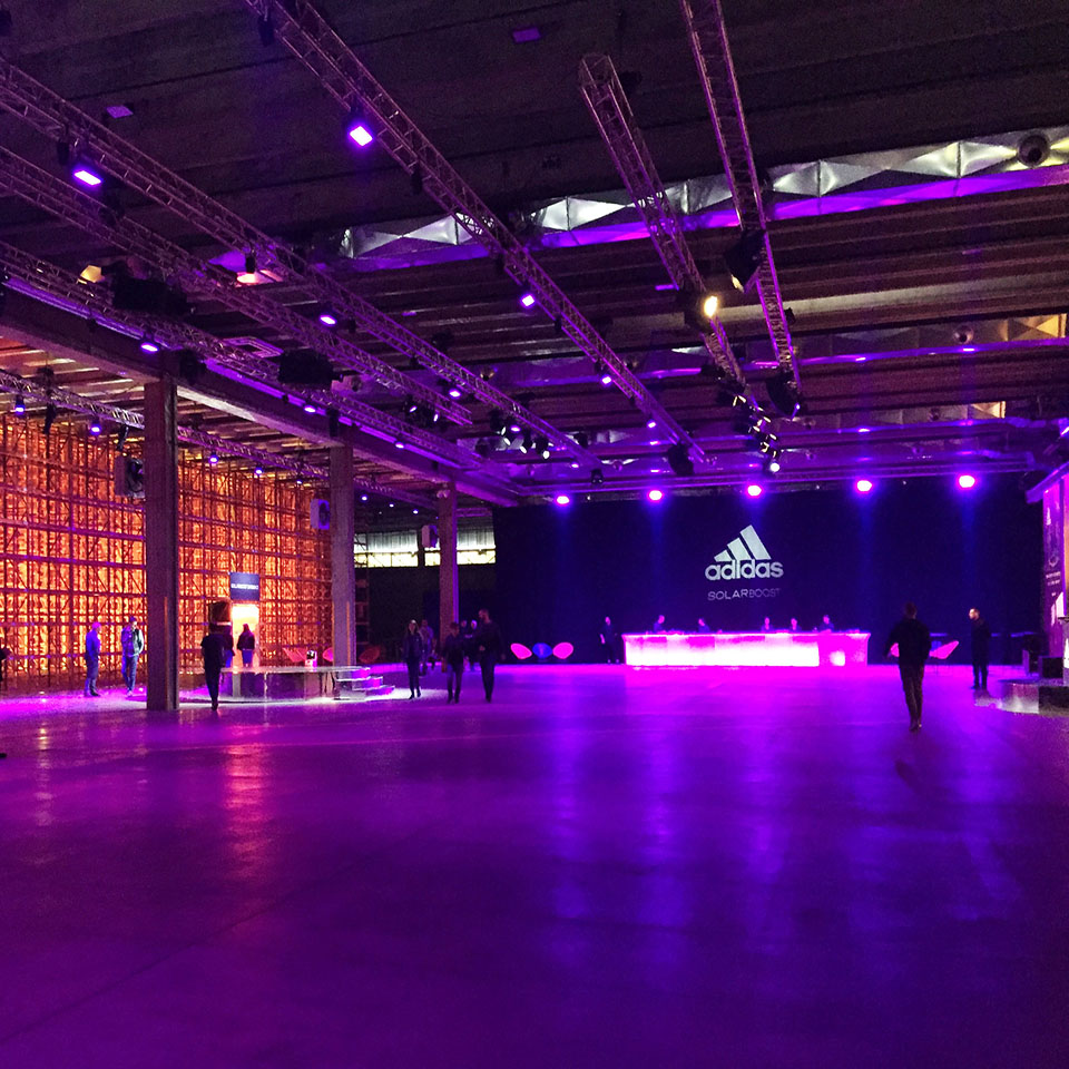 """Solarboost Night"" - ADIDAS event"
