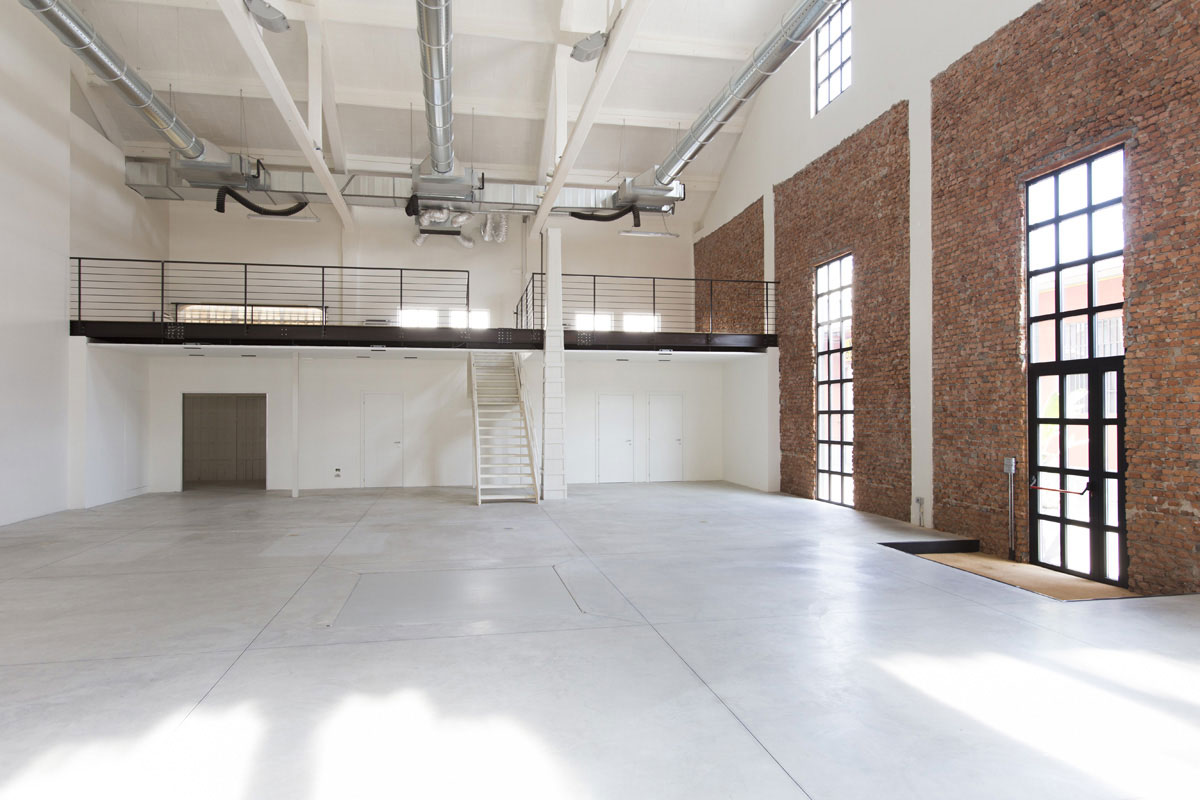 Textile - Open space, Spazio industriale di 275mq in Via Tortona 31 | location disallestita 2