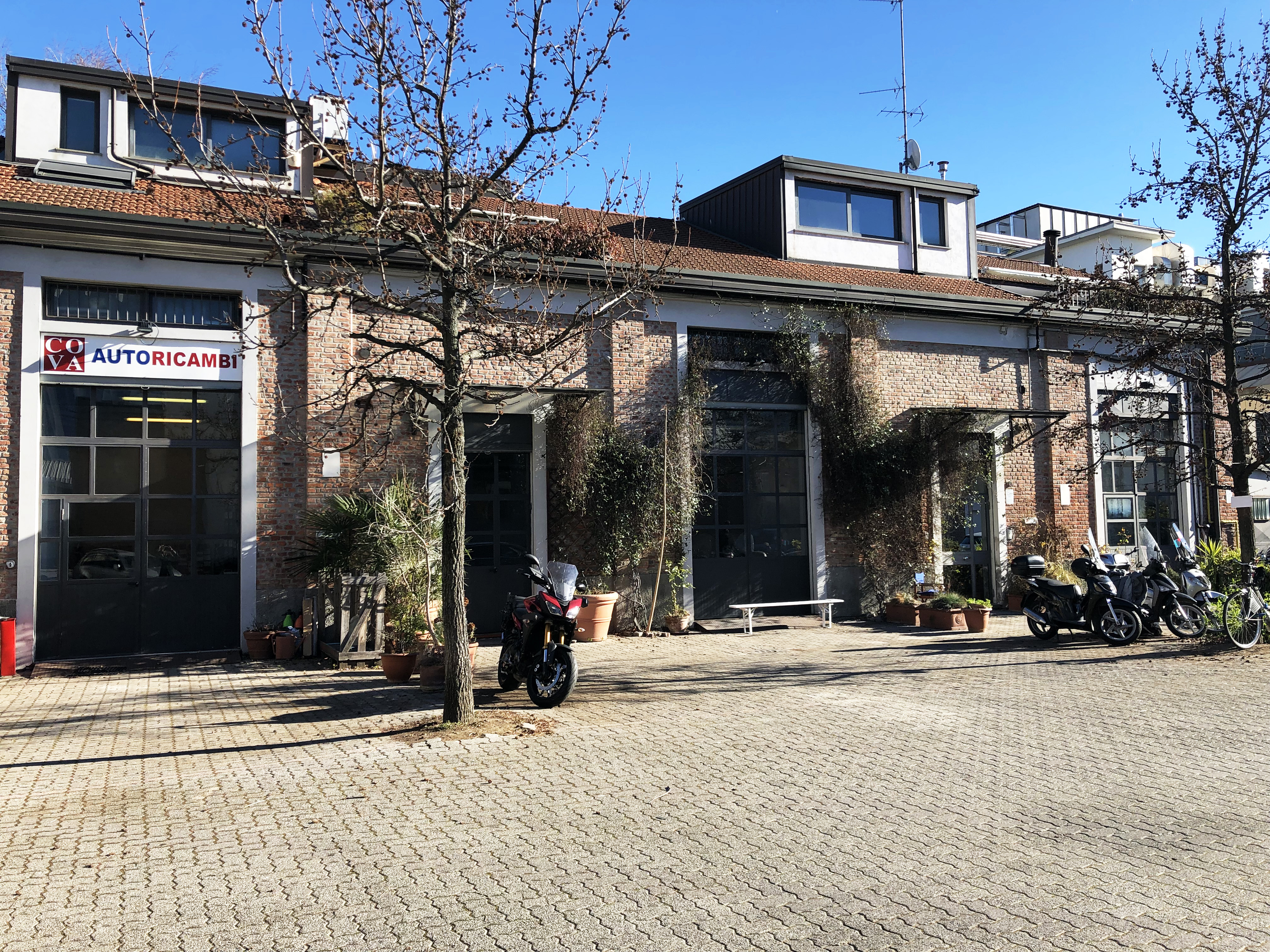 Officina3 - Open space, Spazio industriale di 200mq in Via Tortona 31  | location disallestita 6