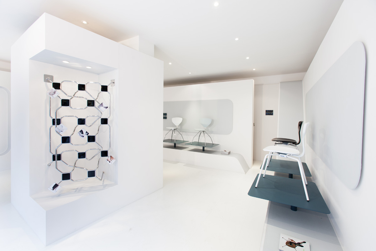 Spazio K - Open space, Showroom, Temporary shop di 55mq in via Cerano 2 | location allestita 4