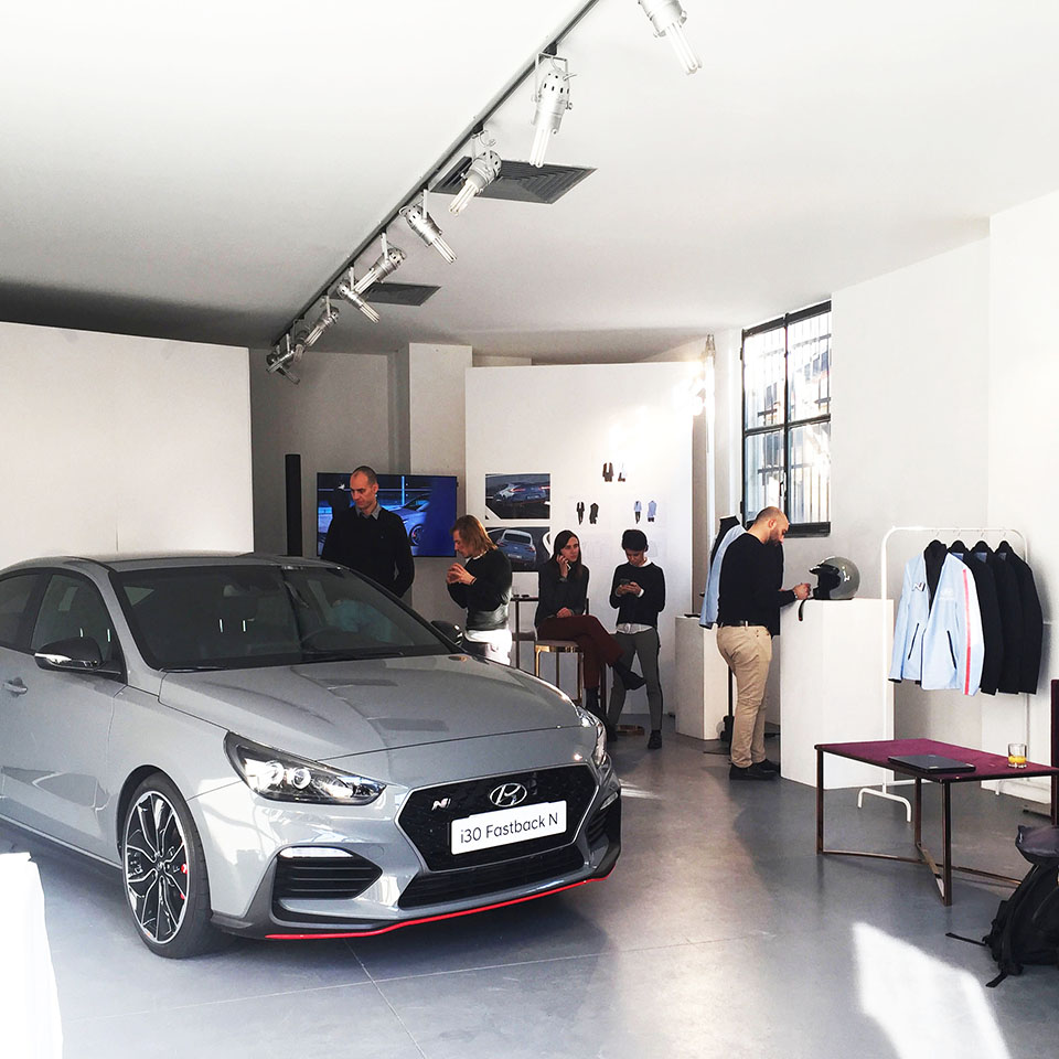 Hyundai - press day corporate event