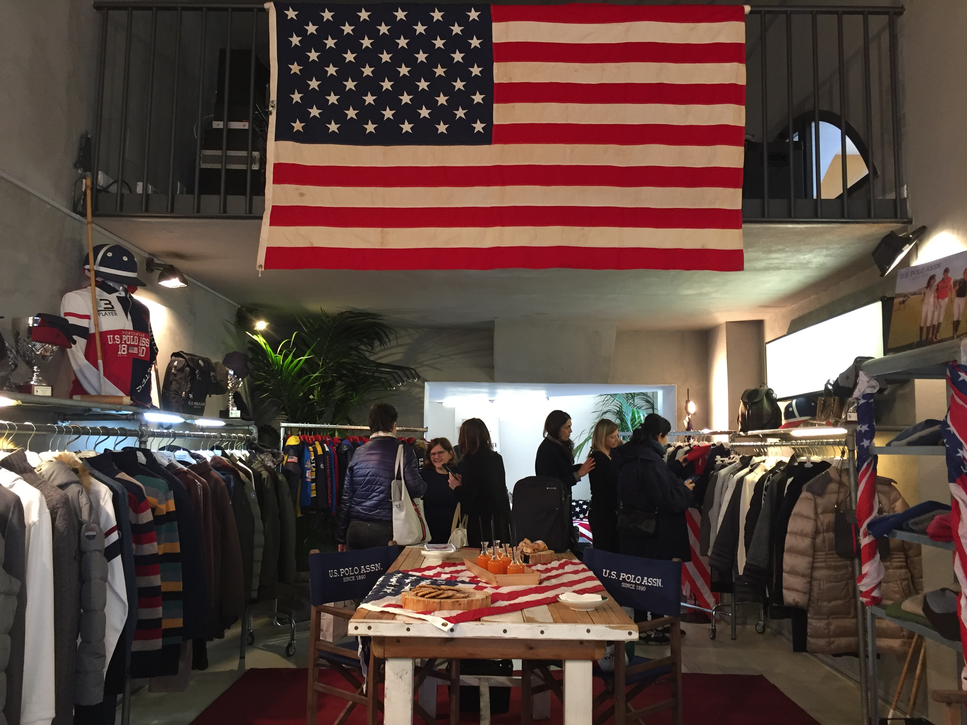 U.S. POLO ASSN. - press day  in Via Tortona 5 - 5