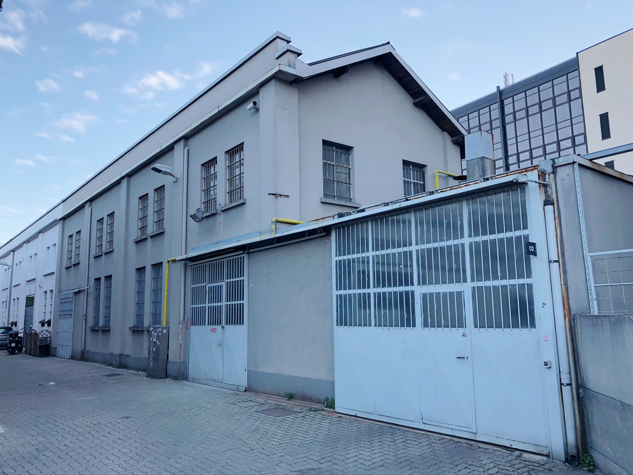 Opificio 31-Forni - Officina, Spazio industriale di 220mq in Via Tortona 31 | location disallestita 1