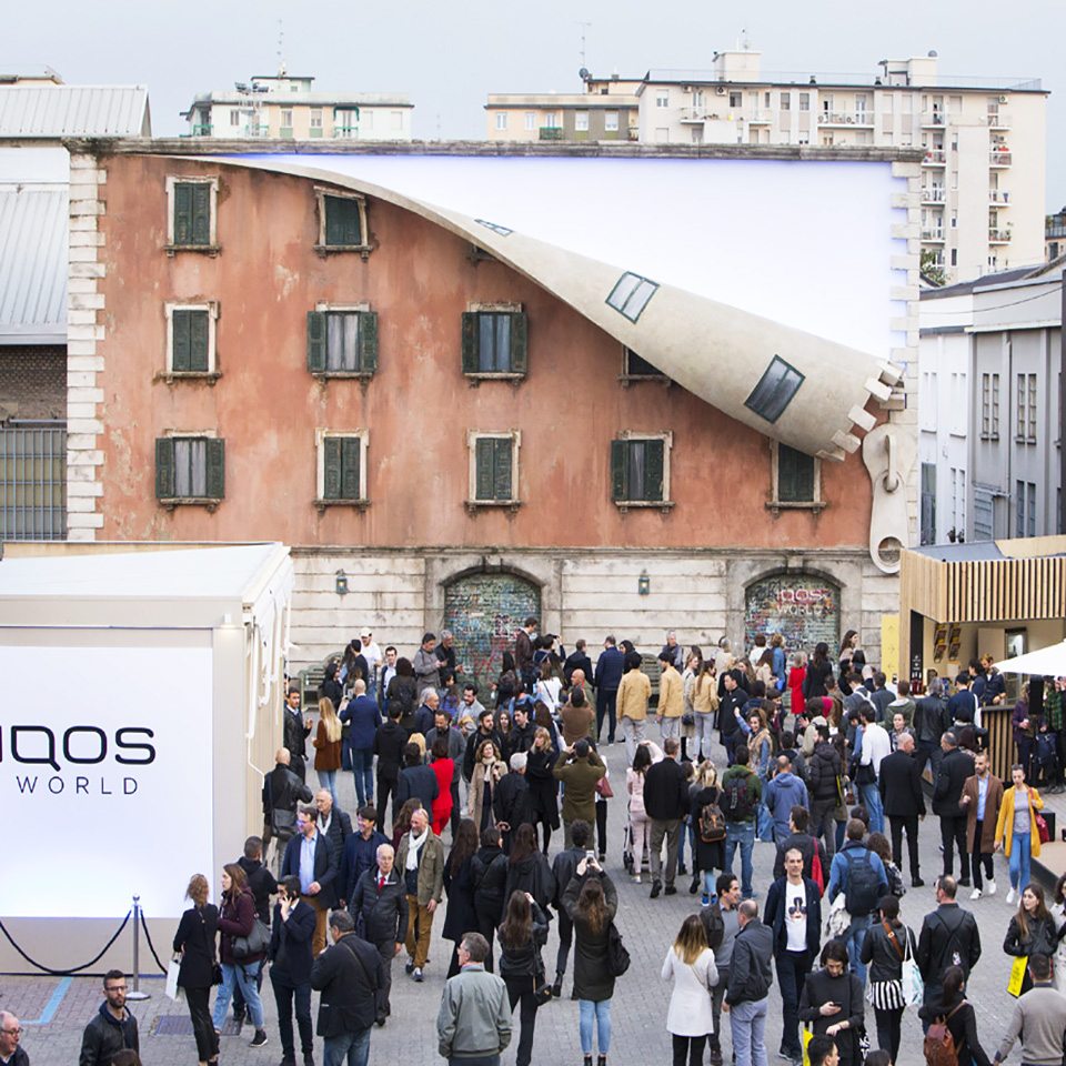 FUORISALONE - 04/19 - IQOS by Alex Chinneck