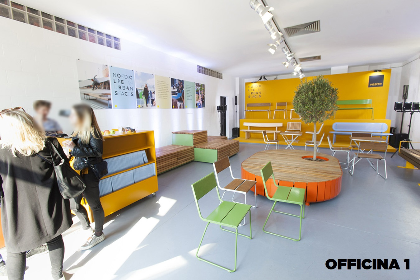 Opificio 31-Officine Cova - Officina, Open space, Showroom, Spazio outdoor di 320mq in Via Tortona 31 | location disallestita 5